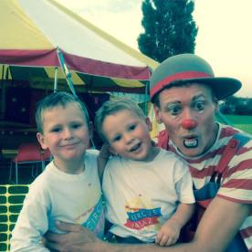 Zaz with his kids Zac & Ollie