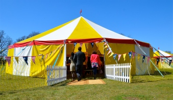 our 15m/50ft bigTop tent