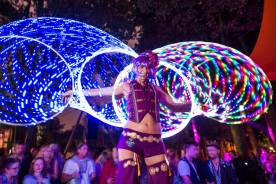 Glow Hoops Stilts