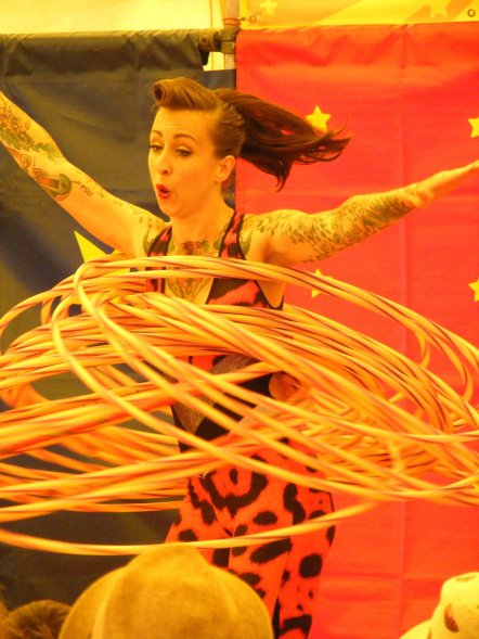 Chi Chi Revolver spins all the hoops!