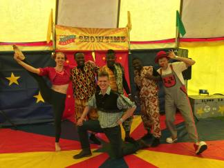 The Uk African Acrobats join us again for a special showtime in South London
