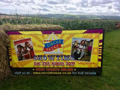 The cornish maize Maze
