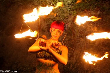 Harley Fox spins Fire & Zaz leads the countdown to the Alderney week 2019 fireworks finale