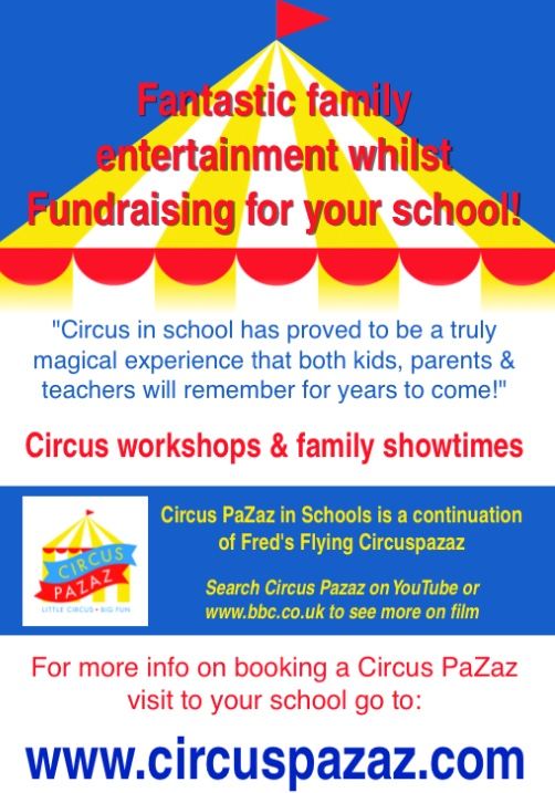 Circus Pazaz for schools!